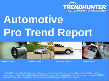 Automotive Trend Report and Automotive Market Research