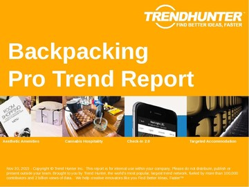 Backpacking Trend Report and Backpacking Market Research