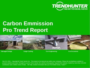Carbon Emmission Trend Report and Carbon Emmission Market Research