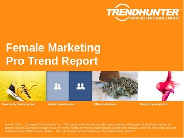 Female Marketing Trend Report and Female Marketing Market Research
