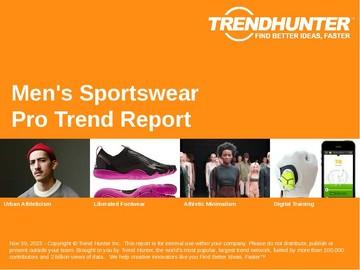 Men's Sportswear Trend Report and Men's Sportswear Market Research