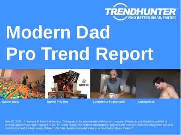 Modern Dad Trend Report and Modern Dad Market Research