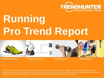 Running Trend Report and Running Market Research