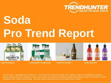 Soda Trend Report and Soda Market Research