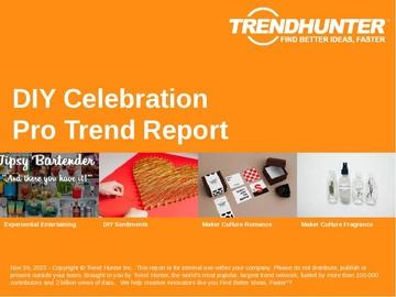 DIY Celebration Trend Report and DIY Celebration Market Research