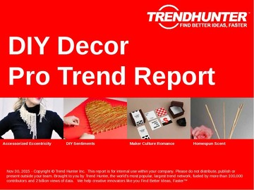 DIY Decor Trend Report and DIY Decor Market Research