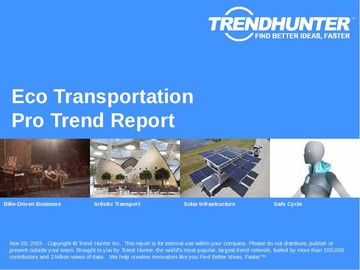 Eco Transportation Trend Report and Eco Transportation Market Research