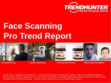 Face Scanning Trend Report and Face Scanning Market Research