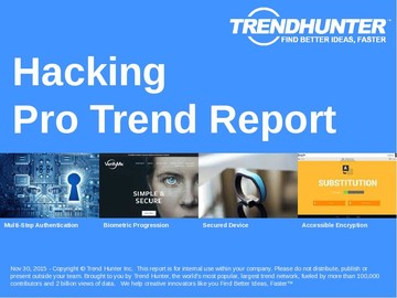 Hacking Trend Report and Hacking Market Research