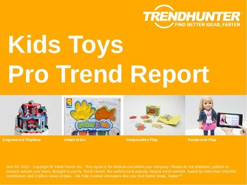 Kids Toys Trend Report and Kids Toys Market Research