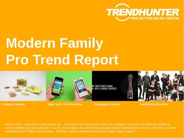 Modern Family Trend Report and Modern Family Market Research