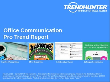 Office Communication Trend Report and Office Communication Market Research