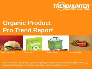 Organic Product Trend Report and Organic Product Market Research