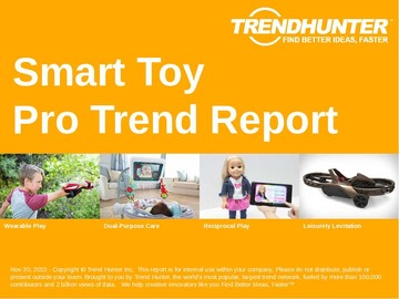 Smart Toy Trend Report and Smart Toy Market Research