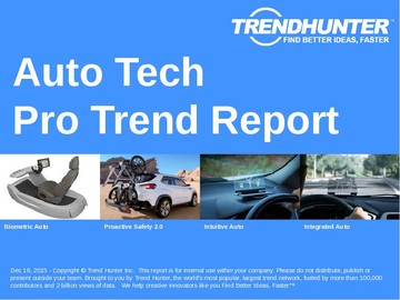 Auto Tech Trend Report and Auto Tech Market Research