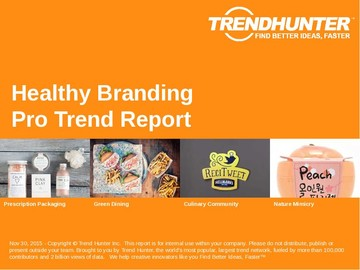 Healthy Branding Trend Report and Healthy Branding Market Research