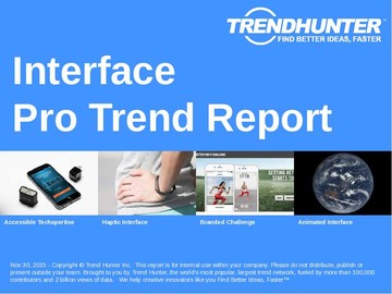 Interface Trend Report and Interface Market Research