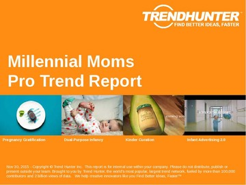 Millennial Moms Trend Report and Millennial Moms Market Research