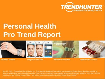 Personal Health Trend Report and Personal Health Market Research