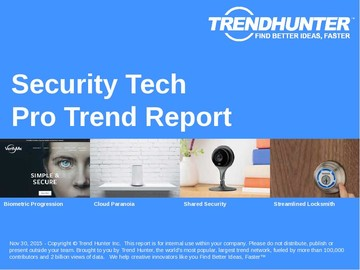 Security Tech Trend Report and Security Tech Market Research