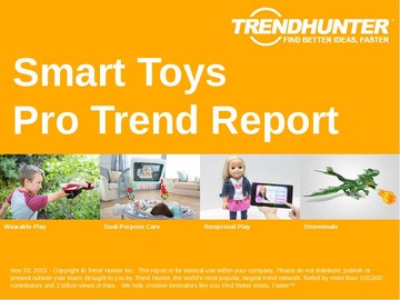 Smart Toys Trend Report and Smart Toys Market Research
