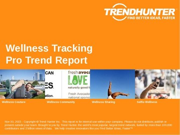 Wellness Tracking Trend Report and Wellness Tracking Market Research