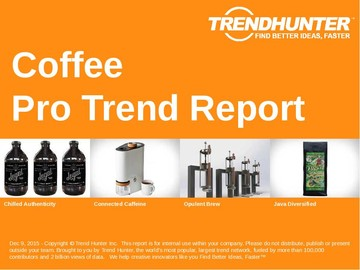 Coffee Trend Report and Coffee Market Research