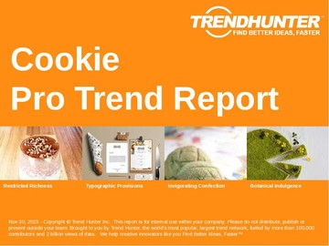 Cookie Trend Report and Cookie Market Research
