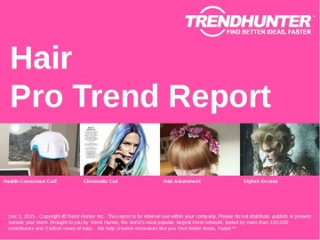 Hair Trend Report and Hair Market Research