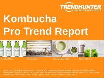 Kombucha Trend Report and Kombucha Market Research
