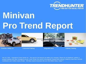 Minivan Trend Report and Minivan Market Research