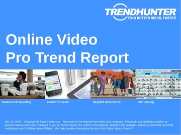 Online Video Trend Report and Online Video Market Research