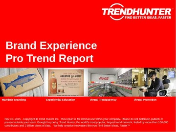 Brand Experience Trend Report and Brand Experience Market Research