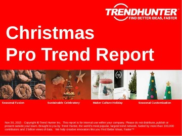 Christmas Trend Report and Christmas Market Research