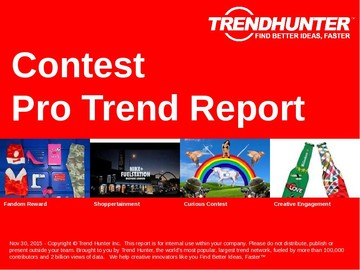 Contest Trend Report and Contest Market Research