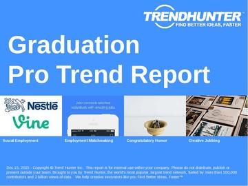 Graduation Trend Report and Graduation Market Research