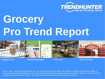 Grocery Trend Report and Grocery Market Research