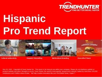 Hispanic Trend Report and Hispanic Market Research