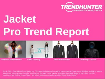 Jacket Trend Report and Jacket Market Research