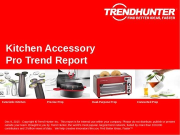 Kitchen Accessory Trend Report and Kitchen Accessory Market Research