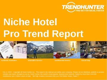 Niche Hotel Trend Report and Niche Hotel Market Research