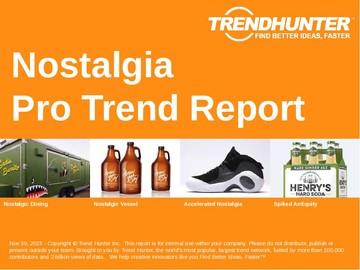 Nostalgia Trend Report and Nostalgia Market Research