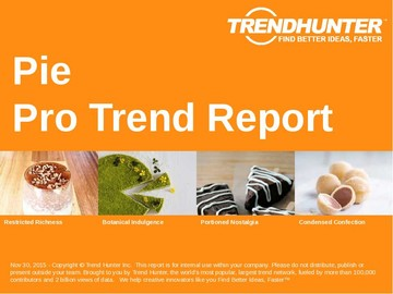 Pie Trend Report and Pie Market Research