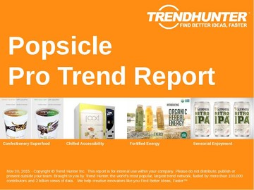 Popsicle Trend Report and Popsicle Market Research