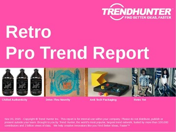 Retro Trend Report and Retro Market Research
