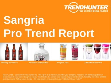 Sangria Trend Report and Sangria Market Research