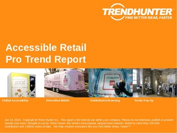 Accessible Retail Trend Report and Accessible Retail Market Research