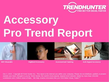 Accessory Trend Report and Accessory Market Research