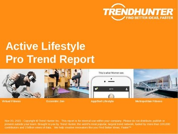 Active Lifestyle Trend Report and Active Lifestyle Market Research