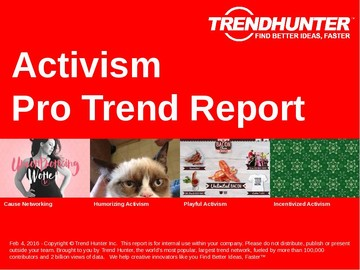 Activism Trend Report and Activism Market Research